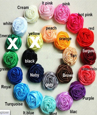 500pcs. Deluxe Satin Roses Wholesale WSA-003