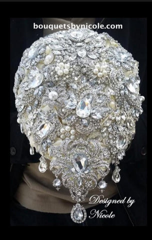 PRINCESS II ~ Luxury Bridal Brooch Bouquet