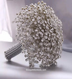 SPARKS ~ Luxury Brooch Bouquet Matching Boutonniere Lapel Pin