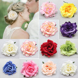 50pcs Deluxe Large Silk Rose Heads SF-0501