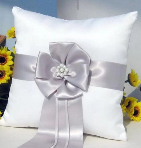 Customized Brooch Wedding Ring Pillow CBP- 003