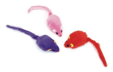 Rascal Cat Toy Mice 3 pack