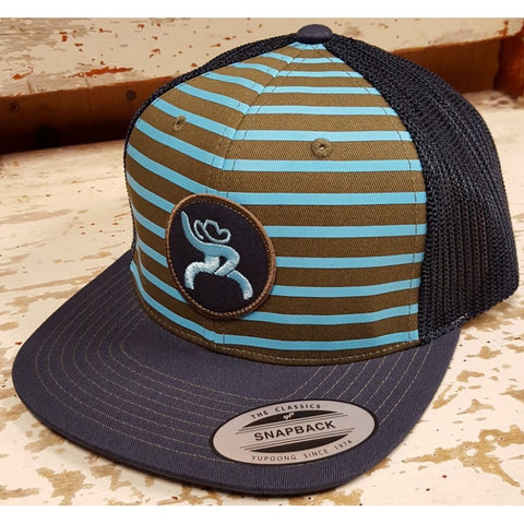 Hooey Navy Trucker Roughy Circle Patch Cap