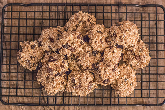 Cinna-Raisin Oat Cookies
