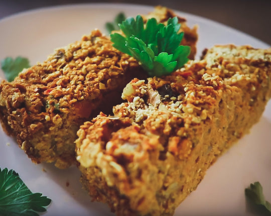 NO-MEAT LOAF | Vegan Holiday Recipe