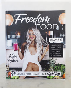 Printed Book Bundle | Freedom Food 1.0 + 2.0 + FREE smoothie ebook!