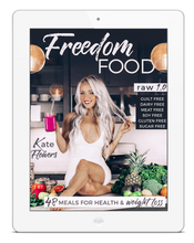 Load image into Gallery viewer, Freedom Food 1.0 - Raw Vegan Recipes + Meal Plan