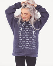 Load image into Gallery viewer, Blue Love is Love Hoodie (pre-order)