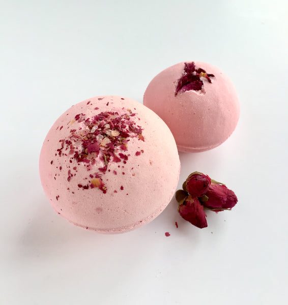 Coconut and English Rose Bath Fizzy