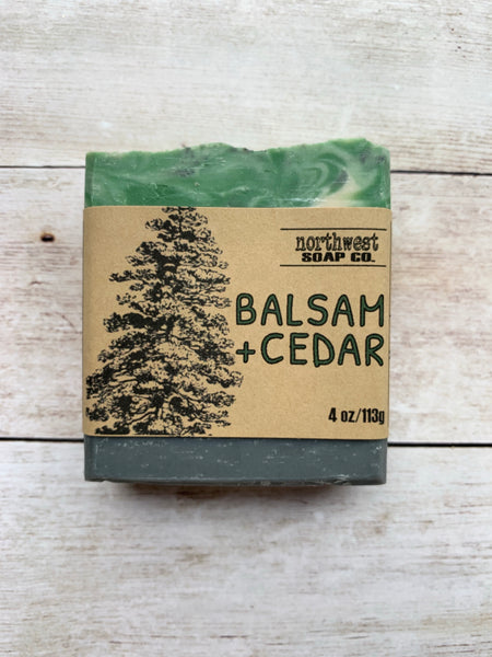 Balsam and Cedar Bar Soap