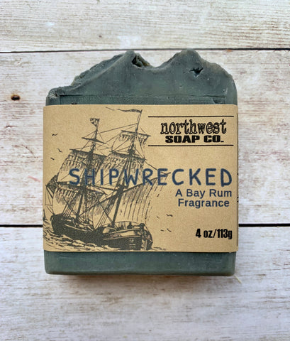 Shipwrecked a Bay Rum Bar Soap
