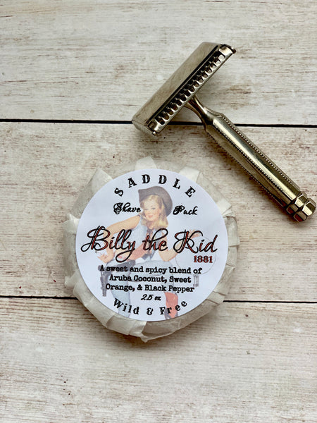 Shave Soap-Billy the Kid