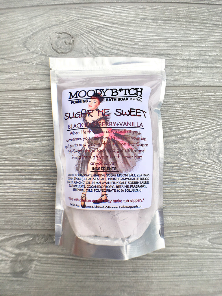 Sugar Me Sweet Moody B*tch Foaming Bath Soak