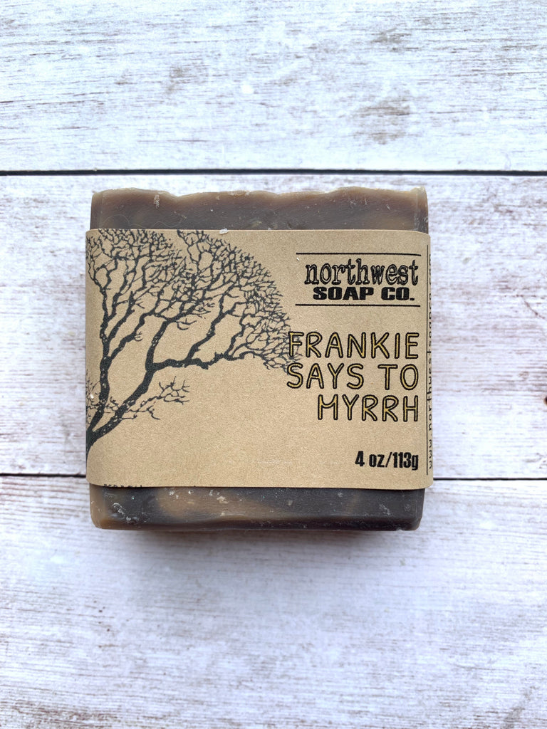 Frankie Says to Myrrh Bar Soap