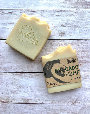 Avocado and Lime Soap Bar