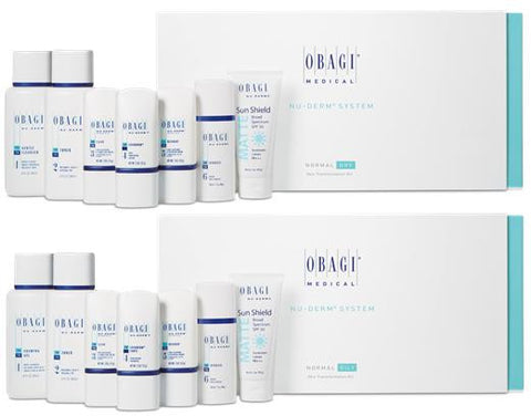 Obagi - Nu-Derm® Starter Kit - Full Size Normal/Oily - Obagi, Skin Care - Skin Care, SkinRX4Less - SkinRX4Less