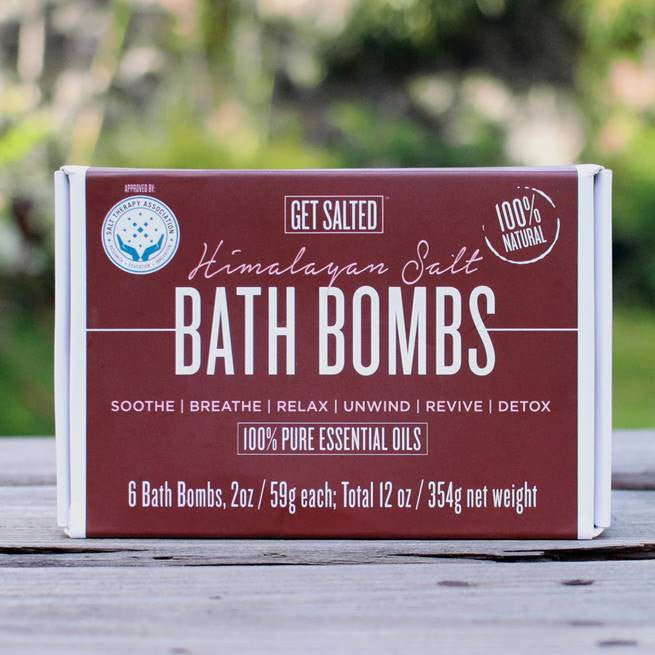 Bath Bombs Set of 6