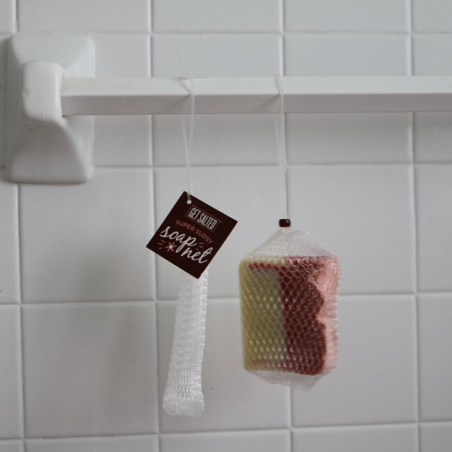 Super Sudsy Soap Net (soap not included)