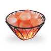 NEW Himalayan Salt Stone Warmer (Wire Frame)