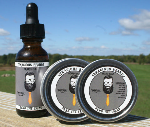 Beard Oil & Balm Sets
