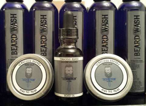 Seduction Beard Oil & Balm Set