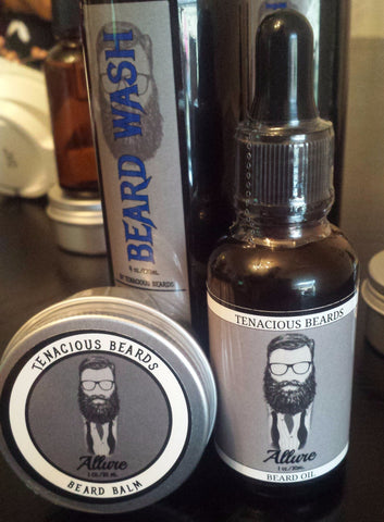Allure Beard Oil & Balm Set