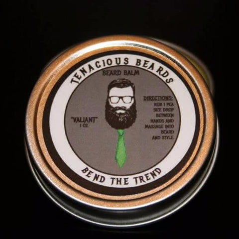 Valiant-Mint Beard Balm - Tenacious Beards - 2