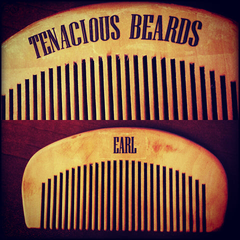 Beard Combs - Tenacious Beards - 1