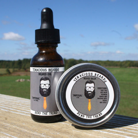Imperial-Citrus Beard Oil & Balm Set - Tenacious Beards