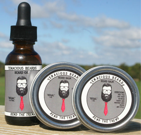 Regal-Woods Beard Oil & Balm Set