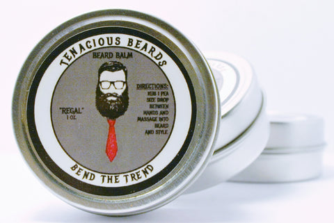 Regal-Woods Beard Balm - Tenacious Beards - 1