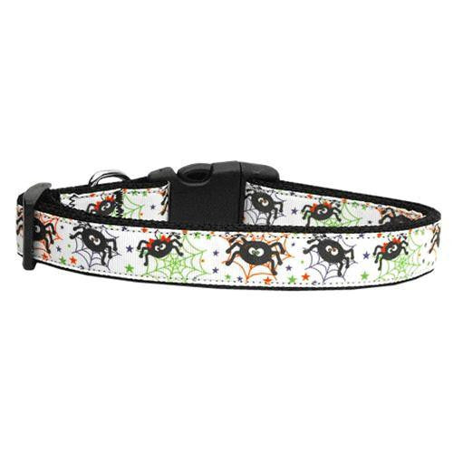Itsy Bitsy Spiders Dog Collar