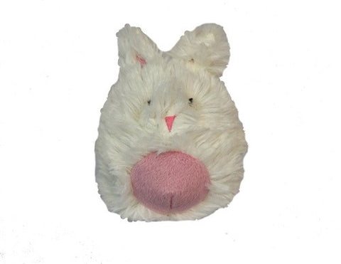 Hugglehounds Plush Durable Squooshie Balls, Bunny