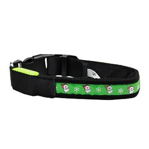 LED Christmas Dog Collar - Santa