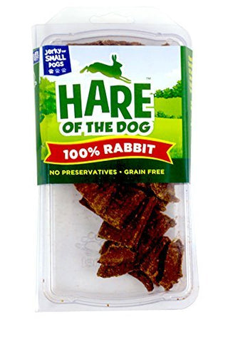 Hare of the Dog Rabbit Dog Treat, Small