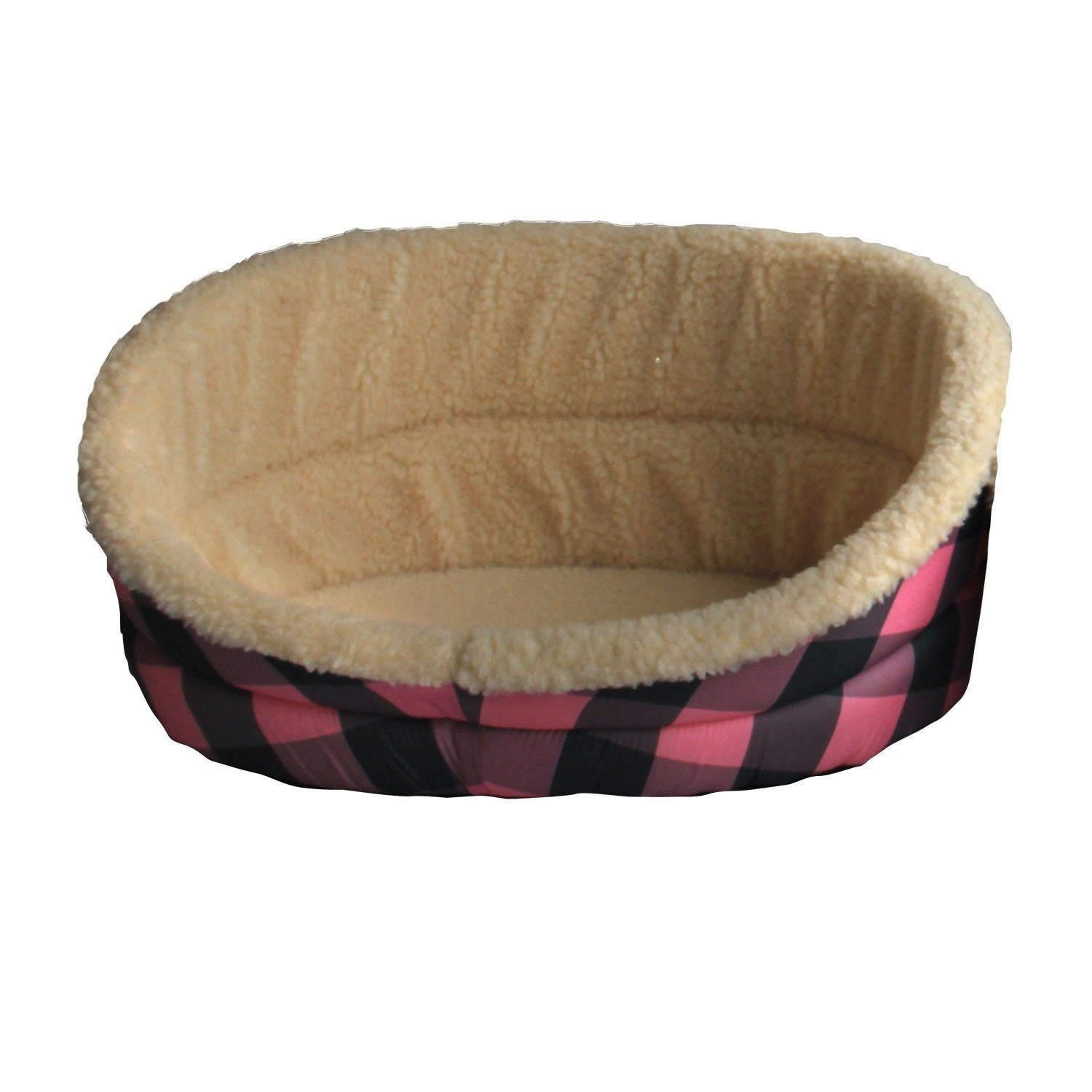Iconic Pet Plush Foam Bed - Dog toys