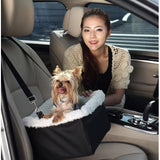 Iconic Pet FurryGo Adjustable Luxury Car Booster Seat - Dog toys