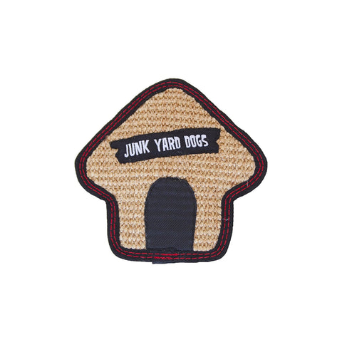 Outward Hound Junkyard Dogs Squeaky Toy, Small Dog House