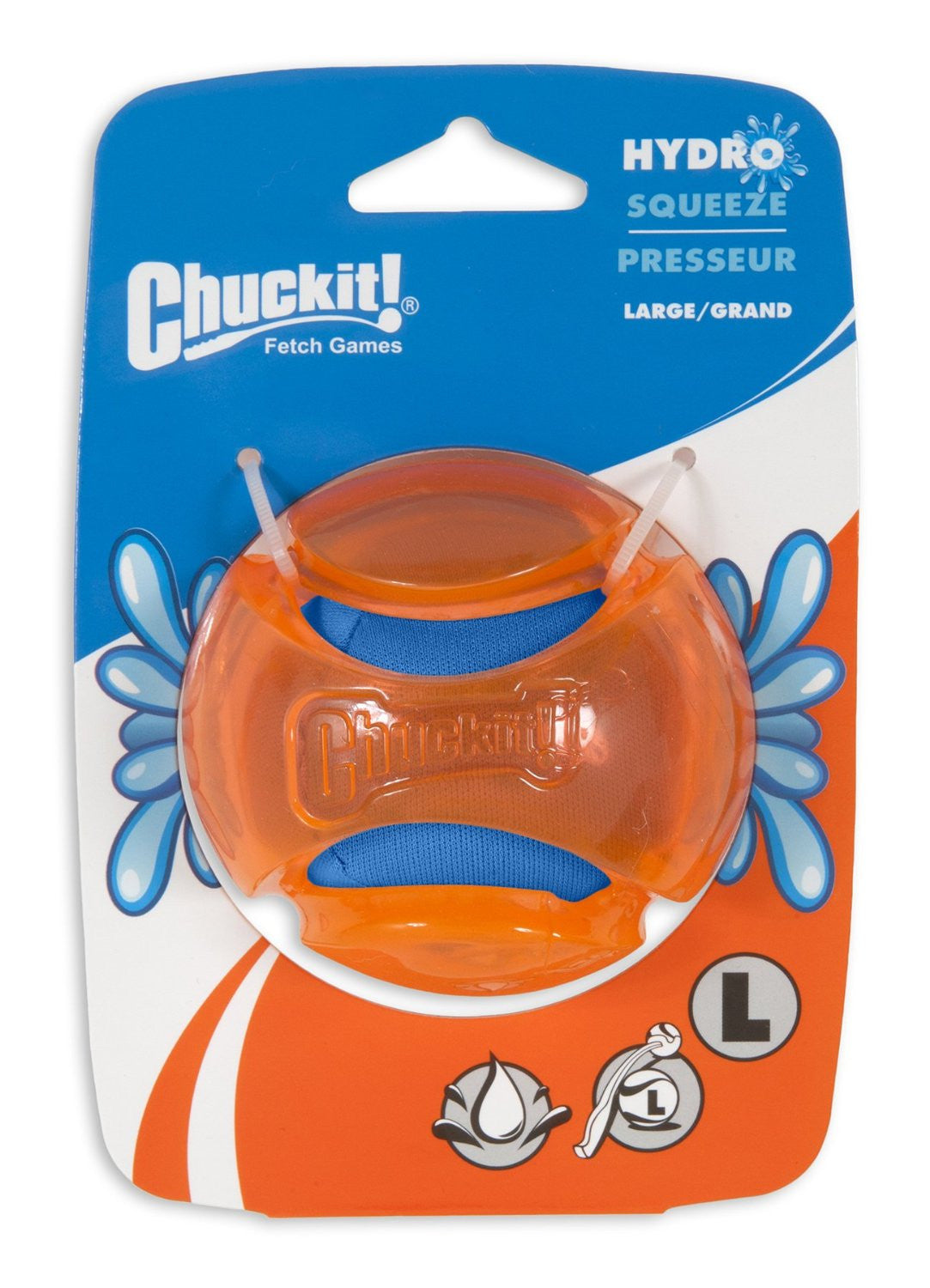 Chuckit Hydrosqueeze Ball - Dog toys