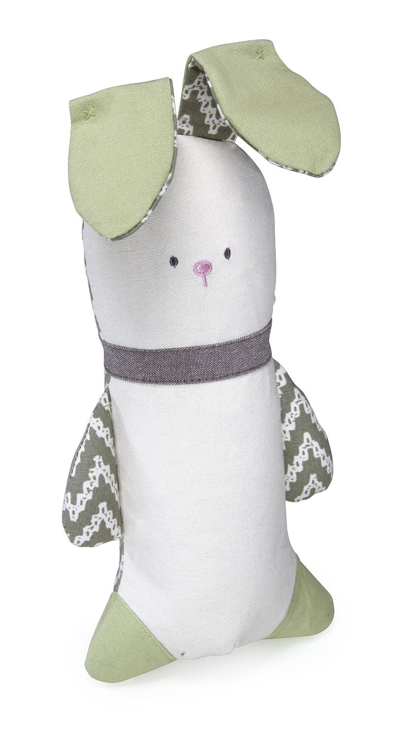 Crinkle Bunny Toy - dog toy