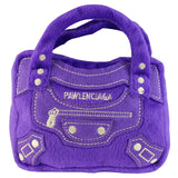 Pawlenciaga Designer Purse Parody Plush Dog Toy - Dog toys
