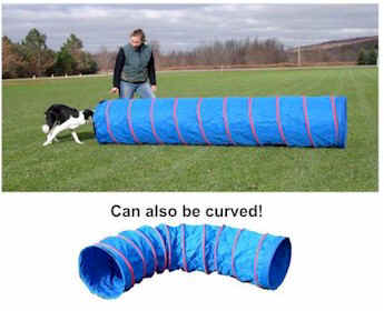 Affordable Agility 9' Practice Tunnel