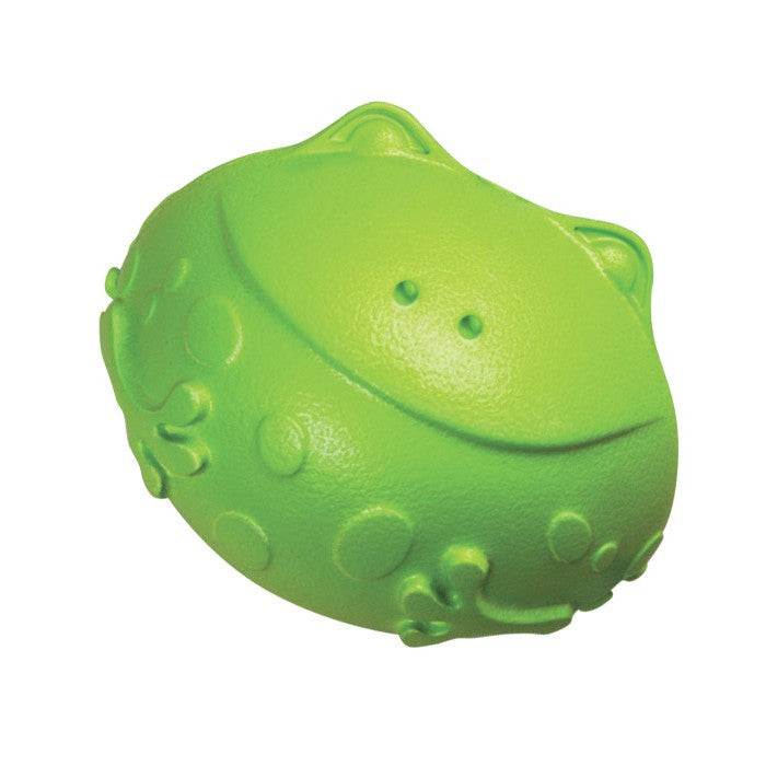 Kong Tuff N Lite Frog Dog Toy - Small - Dog toys