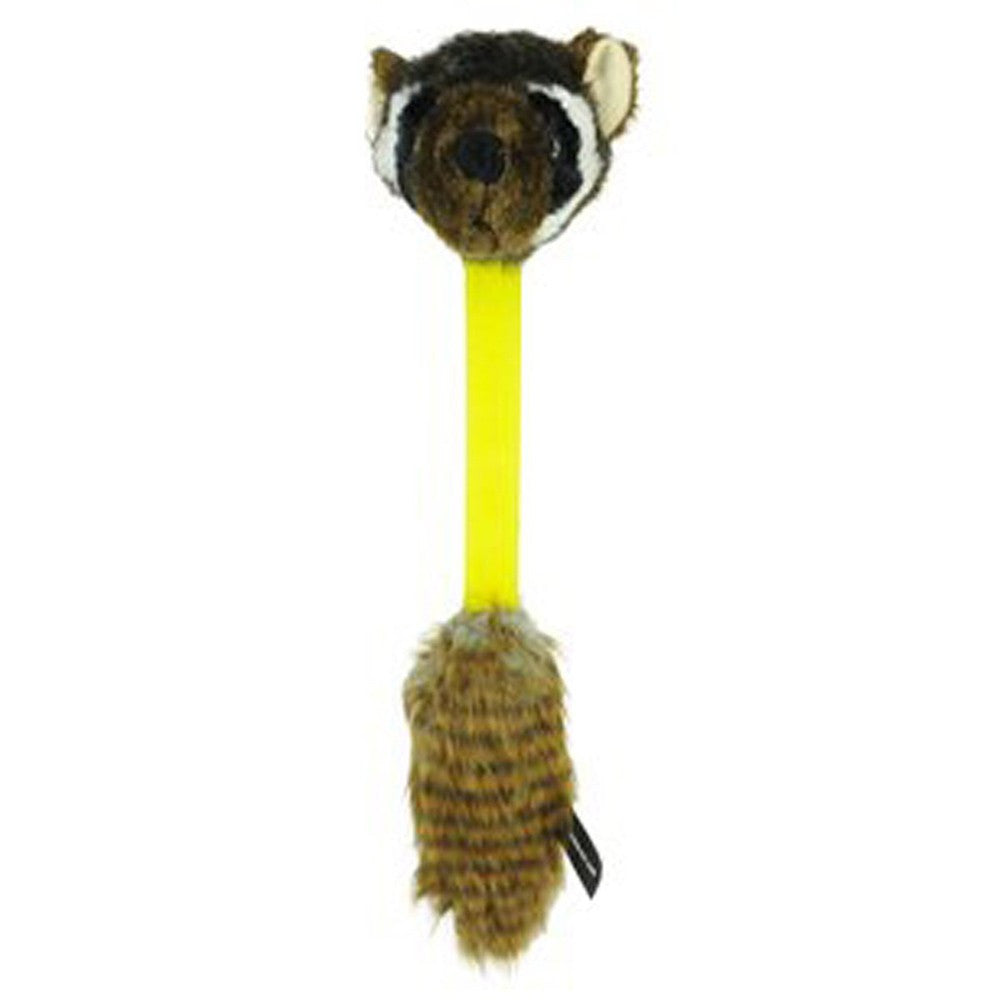 Hyper Pet Hyper Shakes Raccoon Tug Toy - Dog toys