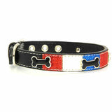 Ice Cream Dog Collar - Patriotic Bone - Dog toys