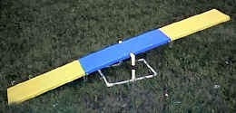 Affordable Agility Mini Travel Teeter (Board and Base)