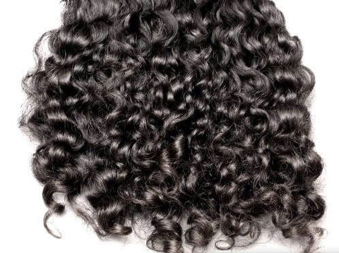 Raw Temple Indian Hair - unprocessed curls