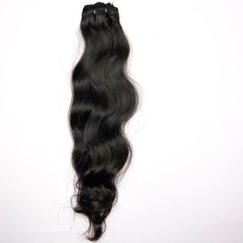 Daisy Hair Extensions 100% Raw Indian Temple Hair | Machine Weft