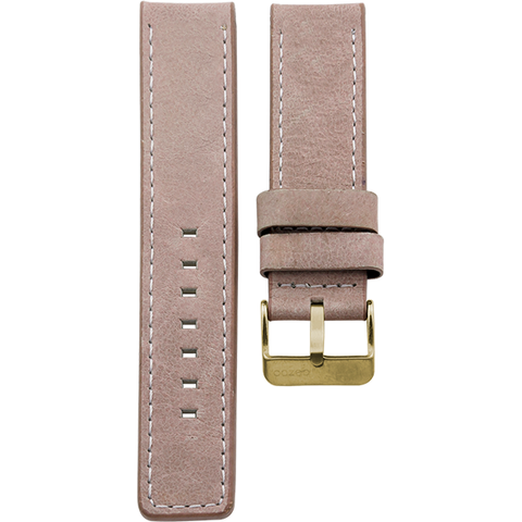 172 / Pink Grey / Gold Buckle