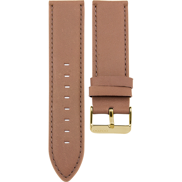 184 / Soft Pink / Gold Buckle